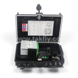 16 puertos de fibra óptica Caja de terminación / PLC caja de distribución
