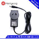 adaptador de la corriente continua de la CA de la serie 12V 2A 24V del Au del vatio 24W para los aparatos electrodomésticos