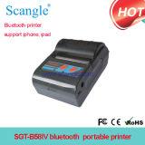 Carry Printer 58 milímetros sem fio Bluetooth em uma impressora Belt Bt para fazer exame de Ordem