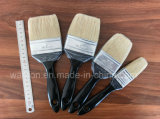 Деревянная щетка краски ручки с белым материалом щетинки