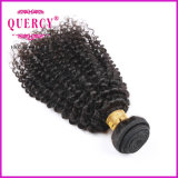 Raw Unprocessed Kinky Curl Remy Virgem humana Remy Indiantemple Hair