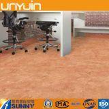 Azulejo de suelo residencial del vinilo del PVC del precio de fábrica