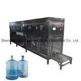Máquina que capsula de relleno que se lava pura en botella 5 galones del agua mineral con el certificado del Ce