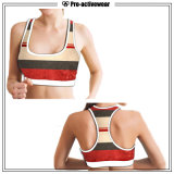 Caminhão respirável Dri Fit Singlet Fitness Yoga Tank Top Gym Wear para senhoras Fitness Running Custom Yoga Sports Bra