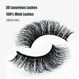 Горячие волосы 100% норки сбывания 3D роскошные хлещут сексуальные разнослоистые ложные ресницы