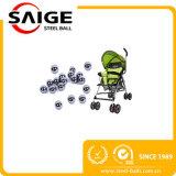 Billes d'acier inoxydable du SUS 304 de RoHS 6mm pour le vernis à ongles