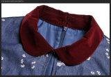 Изготовленный на заказ горячие одежды женщин хлопка способа пальто сбывания