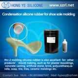 RTV-2 caucho de silicona líquido para la fabricación de moldes de zapatos
