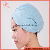 QualitätsMicrofiber Haar-Trockner Schutzkappe/Tuch mit Taste