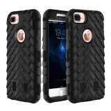 Anti coperchio di caso della protezione della gomma della difesa del telefono mobile per il iPhone 7 più 4.7 5.5
