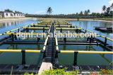 aquiculture de 2m*2m-10m*10m pisciculture les cages nettes de flottement pour des poissons de chat