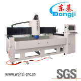 Машина горизонтального 3-Axis края CNC стеклянного обрабатывая для электронного стекла