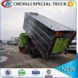 4000liters 쓰레기통 거리 청소원 트럭 도로 청소 트럭