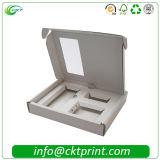 Douane die Tanden vouwen die het Verpakkende Vakje van het Document van de Uitrusting van het Apparaat met Tussenvoegsel witten (ckt-cb-01)