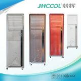 Refroidisseur d'air mobile de pièce avec la garniture de refroidissement par eau
