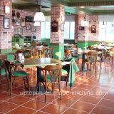 (SP-CS353) Mesa de cadeira de madeira sólida de restaurante Mobília de jantar muçulmana