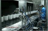 Línea de producción automática de pintura con capa transparente UV fija