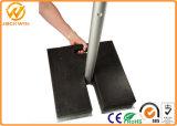 Riciclare la base di gomma nera del Palo del basamento
