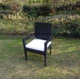 セット4のSeaterの正方形の庭の家具を食事するMtc003屋外の藤