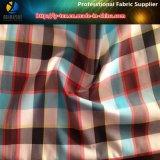 Tela teñida hilado de nylon de la verificación con de secado rápido para los pantalones de la playa, Taslon Handfeeling (YD1097)