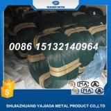 Fil enduit vert-foncé de PVC pour la frontière de sécurité de maillon de chaîne