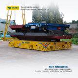 Transport industriel motorisé par chariot plat à piles de chariot
