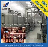 ガラスビンビール生産ライン洗浄に1台の機械に付き3台をキャップすること満たすこと及び