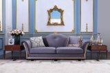 Mobiliário de sala de estar Conjunto de sofá de tecido de madeira S1703