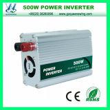 inverseur de pouvoir de véhicule de 500W DC12/24V AC110/220V (QW-500MUSB)