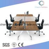 Poste de travail à base métallique de vente chaud de meubles de bureau d'ordinateur de mélamine de bureau