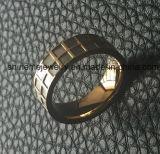 고품질 스테인리스 쉘에 의하여 박아 넣어지는 보석 반지 (SSR2693)