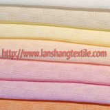 Ткань жаккарда решетки ткани жаккарда химически волокна ткани полиэфира покрашенная тканью для тканья дома одежды детей юбки платья женщины