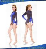 Мокрая одежда Durable подныривания сексуального пляжа пригодности неопрена женщины занимаясь серфингом
