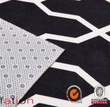 Просто Бел-Черный ковер печатание OEM половика зоны конструкций современный