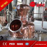 alto destilador del alcohol de la calefacción 200L del whisky de la ginebra de la vodka eléctrica del brandy