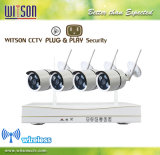 P2p 720p Digital-Wireless Home Surveillance Sicherheit IP WiFi CCTV-Kamera-System NVR Kit