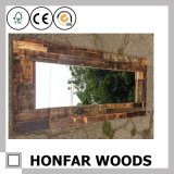 Het sjofele Houten Frame van de Spiegel voor het Project van het Hotel