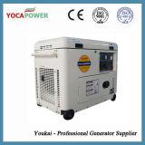 Малошумный молчком портативный тепловозный генератор 5kw