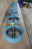 O tipo válvula da bolacha de verificação dupla da placa com ISO Wras do Ce aprovou (H77X-10/16)