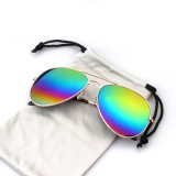 Зеркала металла изготовления Китая солнечные очки логоса цветастого изготовленный на заказ (YJ-0015)