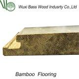 Sin Jointing manchado de bambú tejido filamento Suelos