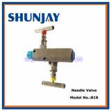 Termómetro bimetálico del acero inoxidable/calibrador industriales de la temperatura