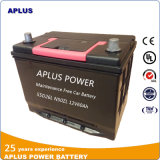batterie de voiture exempte d'entretien de 55D26L N50zl 12V60ah dans la norme de JIS