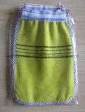 처분할 수 있는 떨어지게 하는 장갑 샤워 손 장갑 온천장 사용