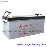 La batterie solaire 12V200ah 3years de cycle profond approuvé du CEI libre substituent