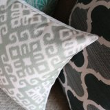 Ecoの友好的で現実的な綿のリネンソファの投球枕