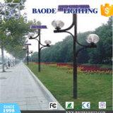9m galvanizou a iluminação redonda e cónica pólo da rua (BDP-2)