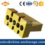 Китайский поставщик муфты Prestressed бетона плоской