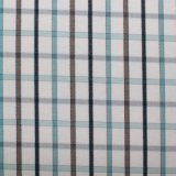 Garn gefärbtes Polyester-Gewebe-Fot Kleid 2
