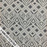 Tela de nylon do laço do algodão do projeto Prismatic do teste padrão